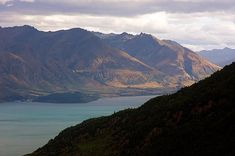 I took this photo of alpine Lake Wakapitu when I was visiting Queenstown on the south island of New Zealand. To get this shot, I took a cable gondola from the center of Queenstown up to a visitor center atop a nearby peak, which gave beautiful views of the lake.
