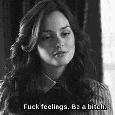 bitch, gossip girl, and blair image Bad Girl Quotes, Gossip Girl Quotes, Sassy Quotes, Gossip Girls, True Quotes, Gossip Girl Funny, Easy A Quotes, Ignore Quotes, Funny Tv Quotes