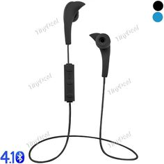 Wireless Bluetooth 4.1 Sport Headset Stereo Earphone with Mic for Smartphone iPhone EEP-498017