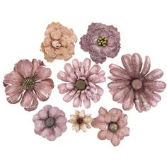 Pastel Layered #2 Paper Flower Assortment   Shop Hobby Lobby $5.99 (8) http://shop.hobbylobby.com/products/pastel-layered-2-paper-flower-assortment-249144/