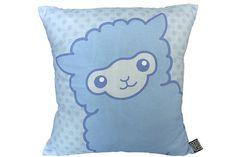 Alpaca Pillow  Alpaca Gifts  Cute Pastel Alpaca Cushion