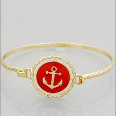 Red Anchor Bracelet Brand new! Super cute! 15% off of bundles! FEEL LIKE MAKING AN OFFER? Please do it through the make an offer feature as I will no longer negotiate prices in the comments section. PRICE IS FINAL ON ITEMS $15 or less unless bundled. Hannah Beury Jewelry Bracelets