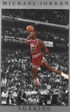 nother poster Michael Jordan Slam Dunk, Michael Jordan Poster, Michael Jordan Pictures, Michael Jordan Basketball, Basketball Legends, Sports Basketball, Basketball Players, Jordan Bulls, Air Jordan