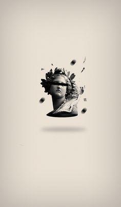 Saved by Inspirationde (inspirationde). Discover more of the best Illustration, Leonardo, Ugalde, and Maldonado inspiration on Designspiration Illustration Arte, Petit Tattoo, Vaporwave Wallpaper, Graphisches Design, Vaporwave Art, Art Antique, Glitch Art, Art Graphique, Grafik Design
