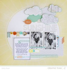 Hello Sunshine - Studio Calico Marks & Co Kit - Kelly Noel