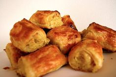 Chicken, leek and pumpkin sausage rolls