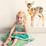 Muursticker van Chocovenyl / Baby deer