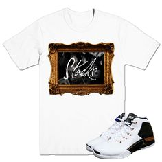 9271e4524d3741 Stacks White T-shirt 100% cotton Street Outfit
