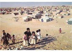Western Sahara, a territory of refugee camps