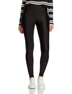 New Look Women s Sandy Highwaist Leggings, Black, 10 Black Leggings, New  Look Women f74530c535a5