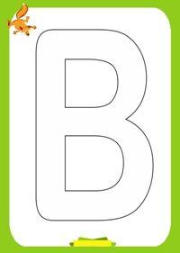 Activitati pentru copii, Planse de colorat Alfabetul, Alphabet Coloring Pages