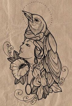 This would be a cool side or thigh piece #cool