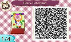 Fotowände | QR-Codes - Animal Crossing: New Leaf