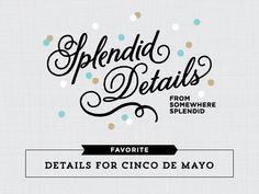 Splendid Details: Top 5 Cinco de Mayo DIY Details | Somewhere Splendid
