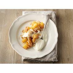 Ananaswokki ja vaniljarahka