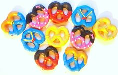 Mickey Mouse Clubhouse Inspired Chocolate Covered Pretzels