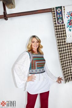 Nadia Comaneci for IIANA Nadia Comaneci, Bell Sleeves, Bell Sleeve Top, Women, Fashion, Moda, Fashion Styles, Fashion Illustrations, Woman
