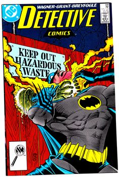 Detective Comics #588 (July 1988) Cover Art by Norm Breyfogle