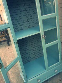revamped cupboard