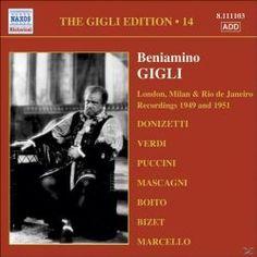 Prezzi e Sconti: #Beniamino gigli edition vol 14: londra  ad Euro 6.90 in #Naxos #Media musica lirica recital
