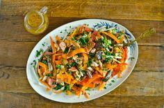 Salada de quinoa e salmão - Marmita