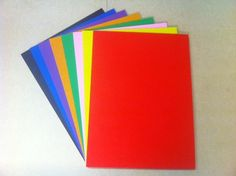 Adhesive Coloured Cork Sheets - 225mm x 195mm - 5mm Thick - Various Colours