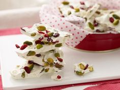 Picture of White Chocolate Holiday Bark Recipe