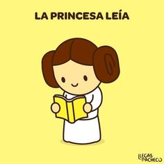 La princesa leía