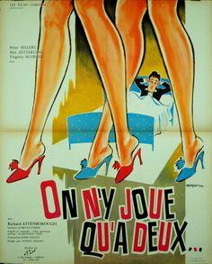 Peter Sellers MAI Zetterling ON N'Y Joue QU'A Deux Sidney Gilliat 1964 60x80 | eBay