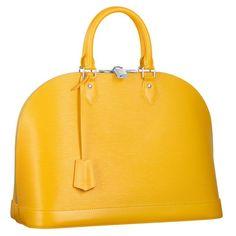 LV Yellow Alma. I need this so bad.