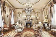 Joan rivers' former NYC apartment which Saudi Prince Muhammad bin Fahd, son of the late King Fahd and former governor of the Eastern Province of Saudi Arabia, has gutted and completely remodelled.