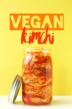 Easy, 10-ingredient kimchi that's entirely vegan and packed with spicy, tangy flavor. A spicy, healthy side or snack that's the perfect addition to any Asian dish.