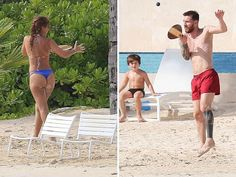 Online Business Operator: Lionel Messi Enjoys Caribbean Honeymoon with Wife ...