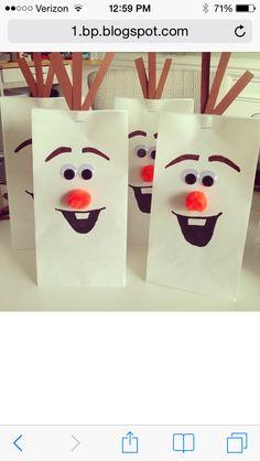 Olaf Gift bags