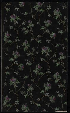 Wallpaper, ca. 1880-90 (made).