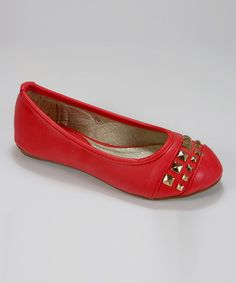 Another great find on #zulily! Red Cielo Flat by Tina Nucci #zulilyfinds