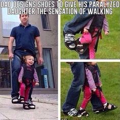 Awesome Dad.