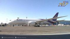 Thai Airways full body painted on Dreamliner B787