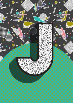 Modern Alphabet Letter J ABC Art Print Society6 Modern Alphabet Letter A ABC Art Print by Season of Victory - $16.00 Modern AOP surface design pattern pencil maze graphic. pencil, maze, school, draw, write, modern, art. Modern Alphabet Letter J ABC graphic Memphis Design Memphis Milan modern retro vintage design kids bedroom poster art type typography text lettering A,B,C,D,E,F,G,H,I,J,K,L,M,N,O,P,Q,R,S,T,U,V,W,X,Y,Z