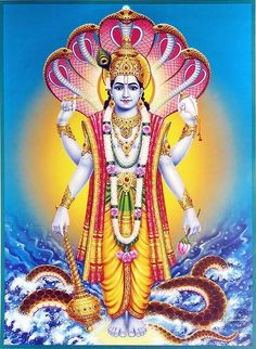 Vishnu - God of forgiveness as well as other things