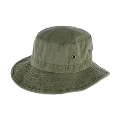 71b739d0c9cd6 Broner Men s Garment Washed Bucket Hat with Snaps and Chin Cord