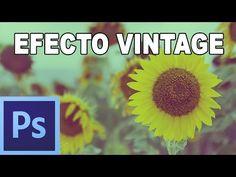 ▶ Efecto vintage en dos pasos - Tutorial Photoshop en Español por @Prisma Tutoriales (HD) - YouTube