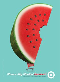 Target Summer 2012 - Watermelon - Allan Peters #poster #campaign