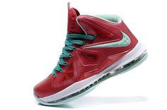 sports shoes a1028 0e0da Lebron 10 red! 77.10USD Lebron James 10, Star Shoes, Nike Fashion,