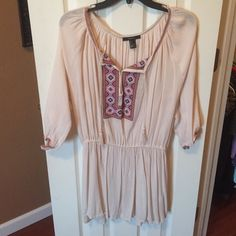 Forever 21 dress CHEAPER ON Ⓜ️ercari Super cute, never worn, fits like a medium Forever 21 Dresses Long Sleeve