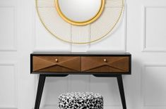 Vintage console Gio made by Novelle Home Couture Furniture, Luxury, Luxury Furniture, Home Decor, Bathroom Mirror, Round Mirror Bathroom, Gold Mirror, Vintage, Mirror