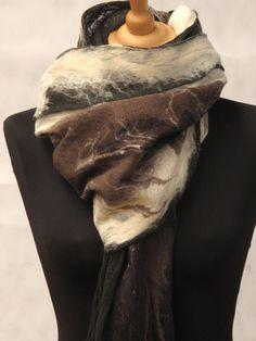 SLOWLAB FIRENZE F/W 2015 felt scarve. fine merino wool.