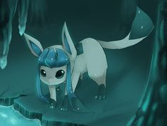 Glaceon by ~Nakubi on deviantART