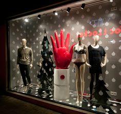 Tezenis Christmas windows 2014, Vienna – Austria window display