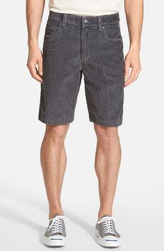 Quiksilver Waterman Collection 'Supertubes 6' Corduroy Shorts available at #Nordstrom